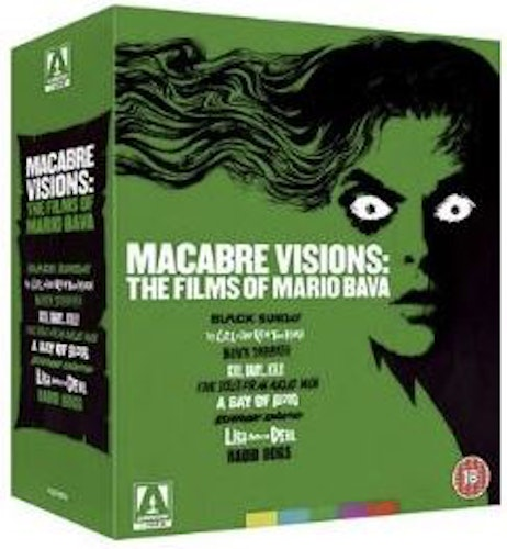 Macabre Visions The Films Of Mario Bava Limited Edition (import) bluray