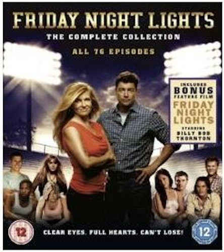 Friday Night Lights Series 1 to 5 Complete Collection (import) bluray