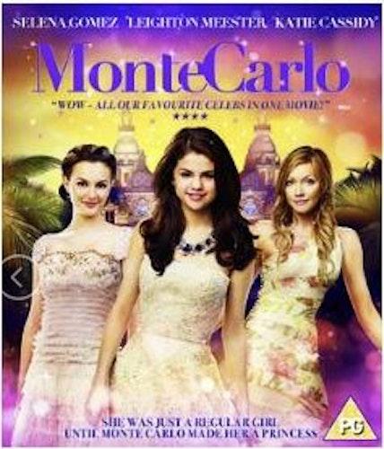 Monte Carlo (import med svensk text) bluray