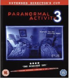Paranormal Activity 3 - Extended Directors Cut bluray