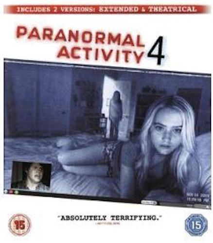Paranormal Activity 4 - Extended Cut (import med svensk text) bluray