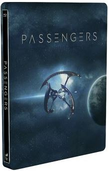 Passengers 3D Steelbook (import) bluray