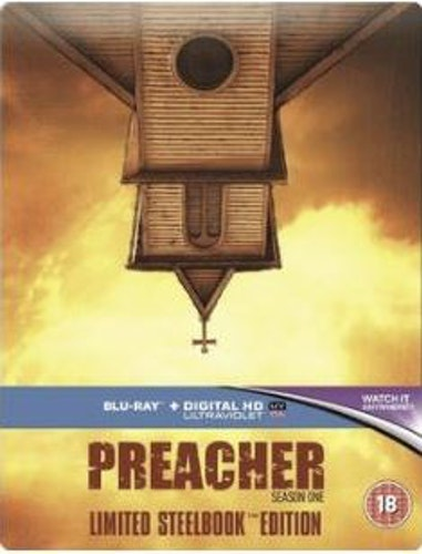 Preacher säsong 1 Steelbook (import Sv text) bluray