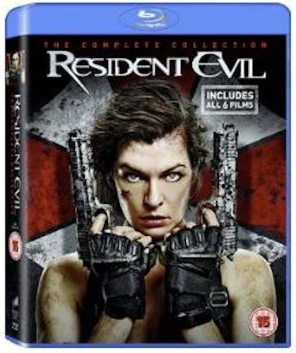 Resident Evil - The Complete Collection (6 Movies) bluray import Sv text