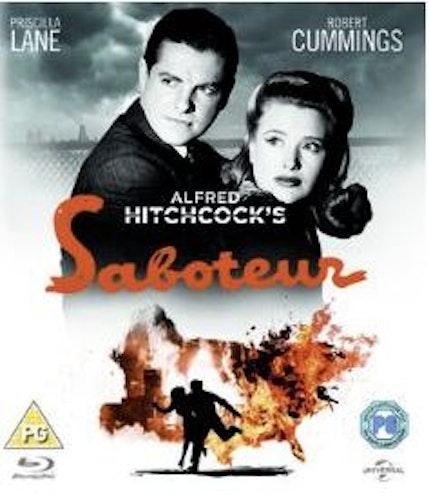 Saboteur från 1942 bluray