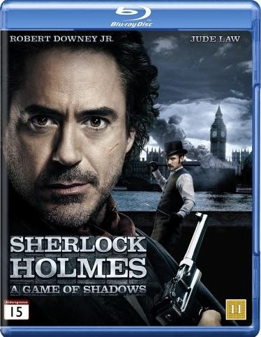 Sherlock Holmes - A Game Of Shadows (bluray)