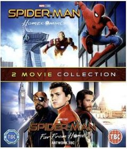 Spiderman - Homecoming + Far From Home (import) bluray