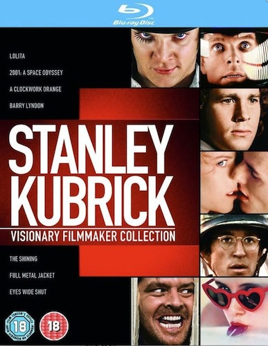 Stanley Kubrick (7 Films) Movie Collection bluray (import)