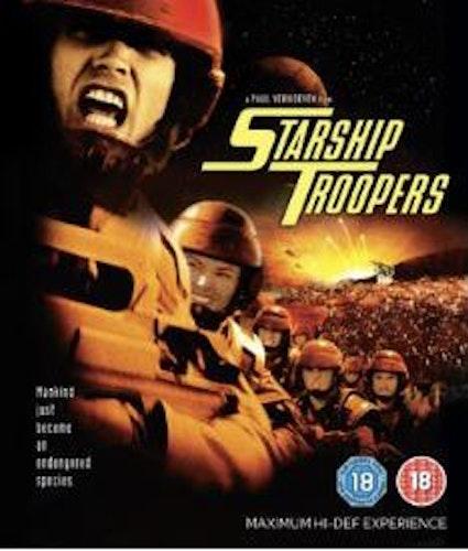 Starship Troopers (import med svensk text) bluray