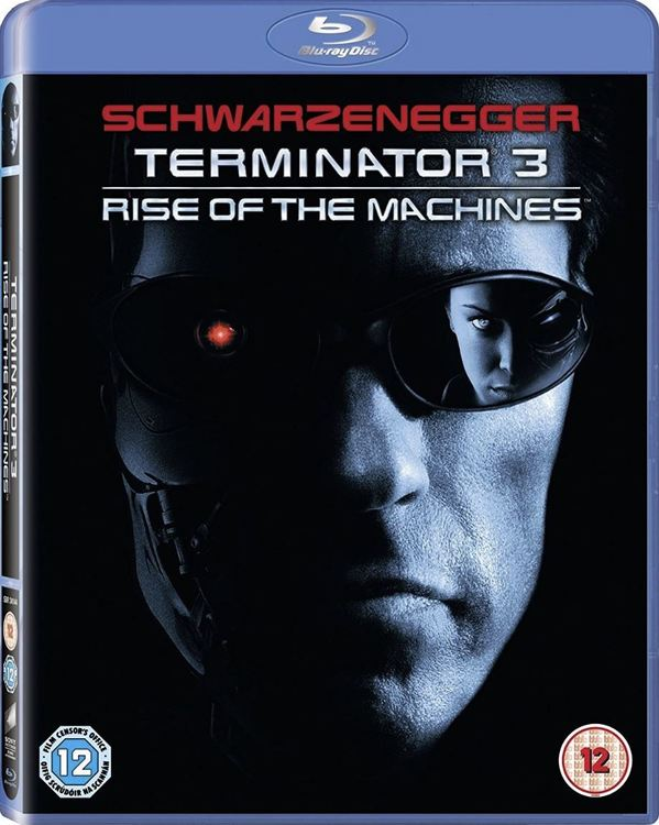 Terminator 3 - Rise of the Machines (import med svensk text) bluray