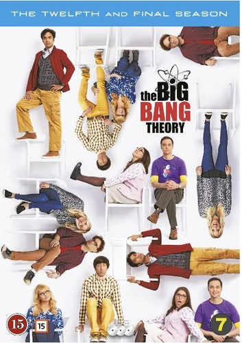 The Big Bang Theory säsong 12 bluray