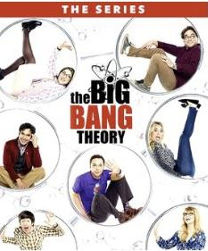 The Big Bang Theory Säsong 1-12 Bluray (import)