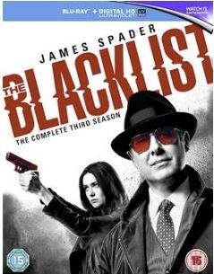The Blacklist säsong 3 (import med svensk text) bluray