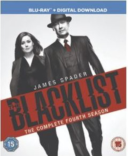 The Blacklist säsong 4 (import med svensk text) bluray