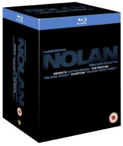 The Christopher Nolan Directors (6 Films) Collection bluray (import med svensk text)