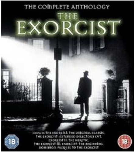 The Exorcist - The Complete Anthology (5 Films) bluray import Sv text