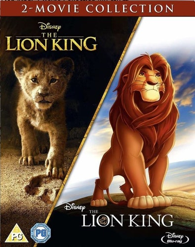 The Lion King + Lejonkungen (animerad) box (import)