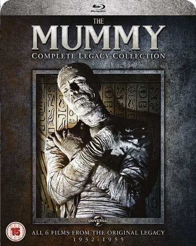 The Mummy Complete Legacy Collection (6 Films) 1932 bluray import Sv text