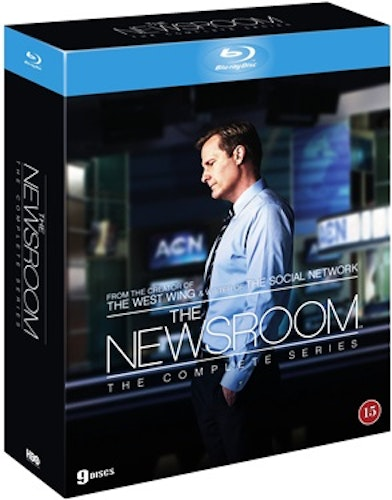 The Newsroom säsong 1-3 Complete Collection bluray