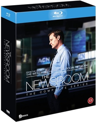 The Newsroom säsong 1-3 Complete Collection bluray (import Sv text)