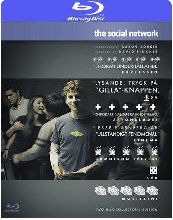 The Social Network (import med svensk text)