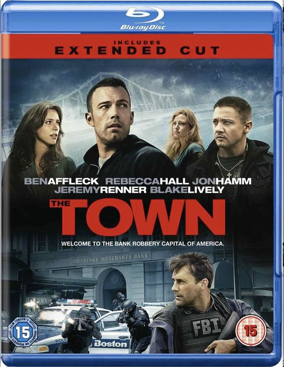 The Town (import med svensk text) bluray