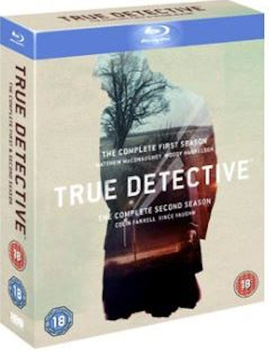 True Detective Säsong 1+2 bluray (import Sv text)
