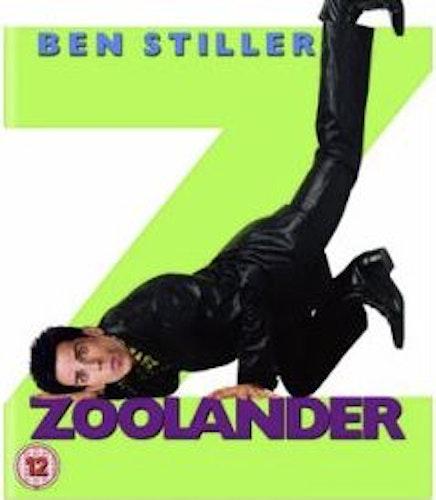 Zoolander (import med svensk text) bluray