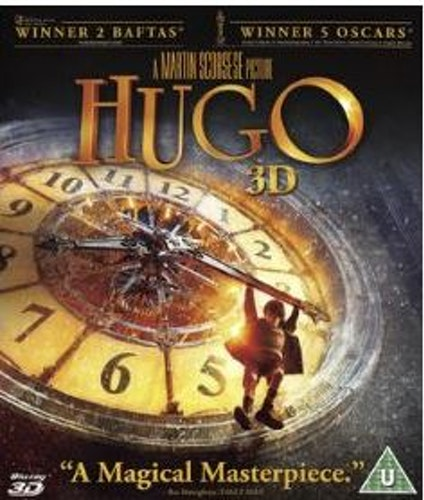 Hugo 3D+2D (import) bluray