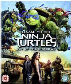 TMNT - Teenage Mutant Ninja Turtles - Out Of The Shadows bluray import Sv text