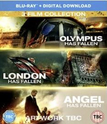 Olympus has fallen + London has fallen + Angel Has Fallen (import) box bluray