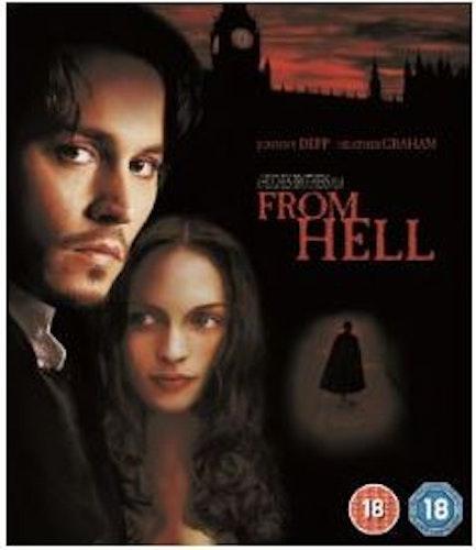 From Hell (import med svensk text) bluray