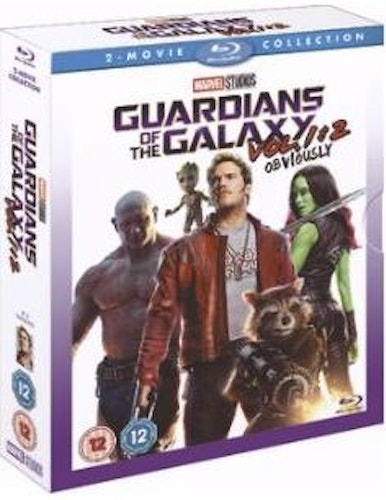 Guardians Of The Galaxy + Guardians Of The Galaxy - Volume 2 bluray import