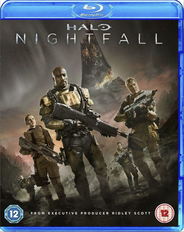 Halo - Nightfall (import med svensk text) bluray