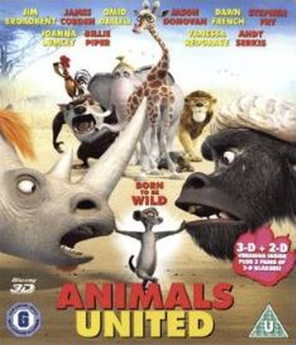 Animals United 3D (import) bluray