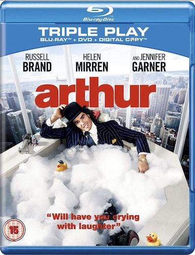 Arthur (import med svensk text) bluray