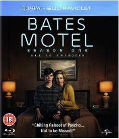 Bates Motel säsong 1 bluray import Sv text