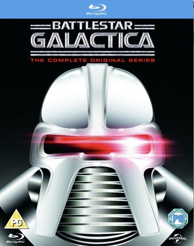 Battlestar Galactica - The Complete Original Series bluray import Sv text