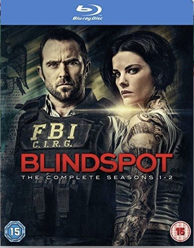 Blindspot Säsong 1+2 bluray import Sv text