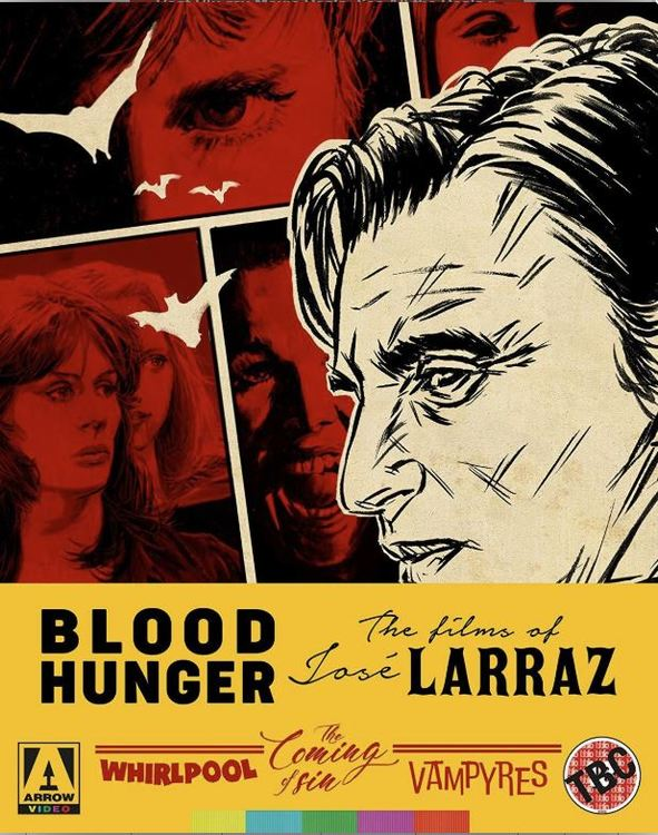 Blood Hunger - The Films of Jose Larraz Limited Edition (import) bluray
