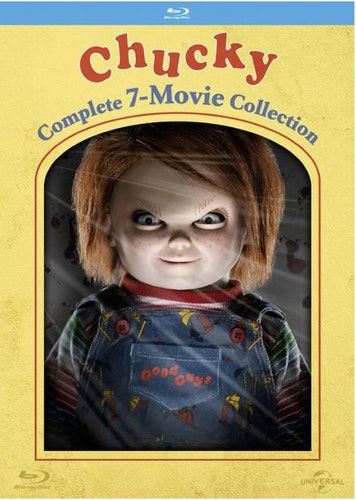 Chucky - Complete Movie Collection (7 Films) bluray import Sv text