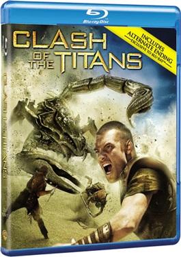 Clash Of The Titans Bluray + DVD (import med svensk text)