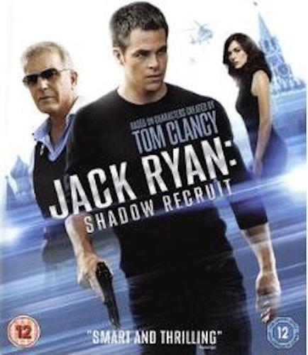 Jack Ryan - Shadow Recruit bluray (import med svensk text)