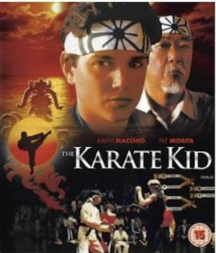 The Karate Kid från 1984 (import Sv text) bluray