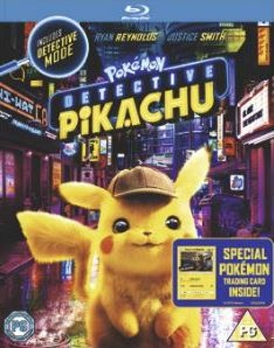 Pokémon: Detective Pikachu bluray