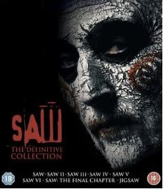 Saw - The Definitive Collection (8 Films) (import) bluray
