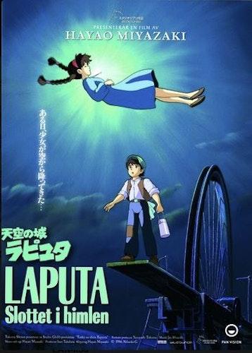 Laputa - Slottet i himlen (Blu-ray)