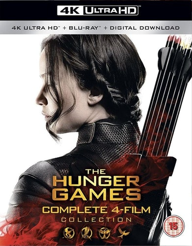 The Hunger Games 1 to 4 4K Ultra HD (import)