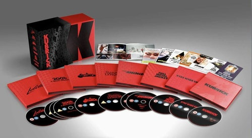Stanley Kubrick - Limited Edition Film Collection 4K Ultra HD (import Sv text)