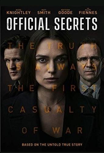 Official secrets (Bluray)